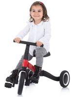 Bicicletă copii Chipolino Smarty 2in1 (TRKSM0203WH)