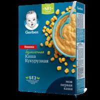 Каша кукурузная без молока Gerber, с 5 месяцев, 180г