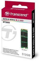 M.2 SATA SSD 512GB Transcend MTS600 TS512GMTS600