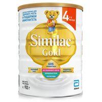 Similac Gold 4 молочная смесь, 12+мес. 900 г