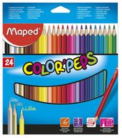 MAPED Карандаши цветные MAPED Star, 24 цвета