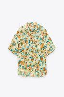 Блуза ZARA Цветочный принт 2183/247/300