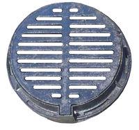 cumpără Gratar fonta canaliz.rotund  500mm  B125 cu bulon (450x540x35) 20kg în Chișinău