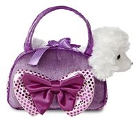 Aurora Fancy Pal Poodle Purple W/Bow (32731)