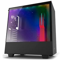 Case NZXT H700i Matte Black, with CAM Smart RGB lighting