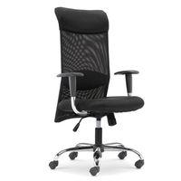 купить Офисный стул 625x585x940 мм, черный в Кишинёве