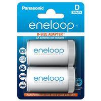 Адаптер- переходник с АА на D Panasonic Eneloop BQ-BS1E/2E