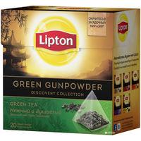 Lipton Diamond Green Gunpowder 20 пак.