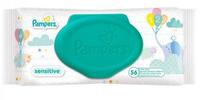 Pampers влажные салфетки Sensitive, 56шт