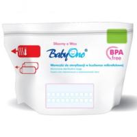 BabyOno пакеты для стерилизации в микроволновой печи, 5 шт-100 стерилизаций