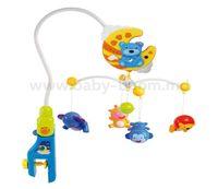 Baby Mix  HS-1377M Карусель пластиковая с пультом Мишки