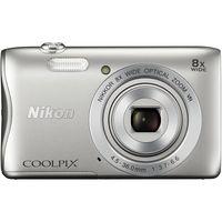 Фотокамера NIKON Coolpix S3700 Silver