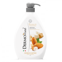 Жидкое мыло для рук Dermomed с экстрактом Карите и Миндаля, 600 мл