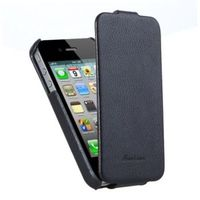 Чехол Flip Leather case for Iphone 4/4S black