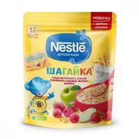 Nestle каша Шагайка мультизлаковая молочная с земляника, малина и яблоко, 220 гр