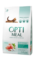 Optimeal для котят - курица ,4кг