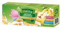 Heinz детское печенье с бананом и яблоком, с 6 мес.