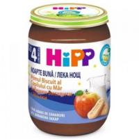 Hipp Good Night пюре с печеньем и яблоком, 4+мес. 190г