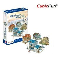 CubicFun пазл 3D World Style France