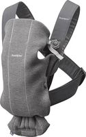 Анатомический рюкзак-кенгуру BabyBjorn Mini Dark Grey