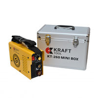 Инвертоная сварка KT260 mini-box KraftTool