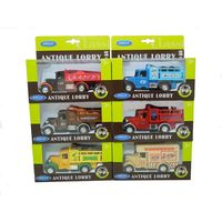Antique Lorry 1:34 metal 6 modele RETRO