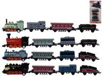 Set tren+ 3 vagoane, 22X11X2,5cm