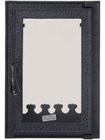 Дверца чугунная со стеклом Weekend - Carmen mini