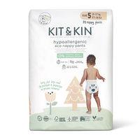 Гипоаллергенные экологические подгузники-трусики Kit&Kin 5 (12-17 кг) 20 шт