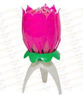 BH-01 Музыкальная свеча цветок