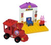 BIG Конструктор Peppa Pig Поезд с остановкой, 15 шт.