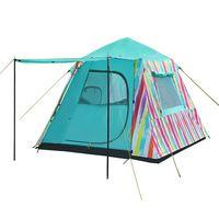 Палатка 4` KingCamp Burano 3 KT9006 (977) RAINBOW