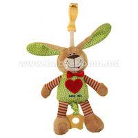 "Baby Mix  STK-16395  Игрушка для  путешествий ""Зайка"""