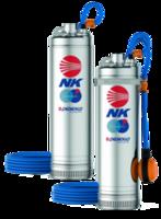 Скважинный глубинный насос многолопастный Pedrollo NK4/4 1.5 кВт до 72 м