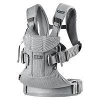 Анатомический рюкзак-кенгуру BabyBjorn One Air Silver 3D Mesh