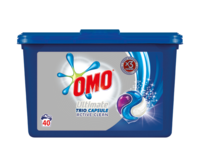 Omo Ultimate Trio Capsule Active Clean, 40 шт.