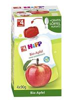 Hipp piure din măr 12+ luni, 4*90g + linguriță