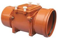 купить Обратный клапан  ПВХ  dn200 - горизонт. (оранж.) HL720  M в Кишинёве