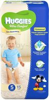 Huggies Ultra Comfort Small Boy 5 (12-22 кг.) 15 шт.