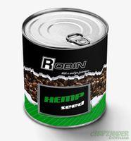 Консервированная конопля ROBIN 200мл (цельнозерновая)