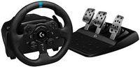 Колесо Logitech Driving Force Racing G923, для PS4, 900 градусов, педали, двухмоторная силовая обратная связь