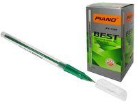 купить Ручка PT-1157 oil ink 0.7mm зеленая  в Кишинёве