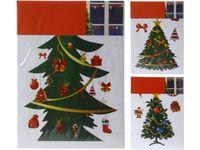 """купить Наклейки новогодние на окна """"Елка"""" 2шт, 24X31.5cm в Кишинёве"""