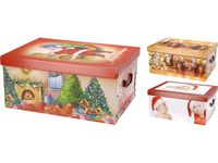 Коробка рождественская 51X37X24cm