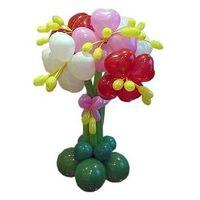 Клумба 5 Цветов с Лепестками Сердечки