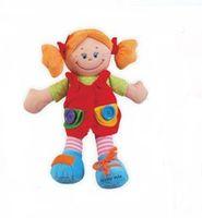 Baby Mix EF-TE-8081-38C Кукла плюшевая