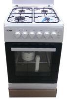 Газовая плита Klass T5404E4I, White