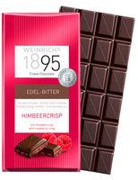 Ciocolată neagră cu zmeură Weinrichs 1895 100g