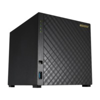 "ASUSTOR AS1004T, 3.5"" SATA3 CPU 1.0GHz Ram 512MB USB3.0"