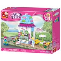 CONSTRUCTOR GIRL IS DREAM ICE CREAM SHOP- Кафе Мороженое B0525